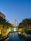 Dubai, welches das Hosting von Ausstellung 2020 feiert Lizenzfreies Stockbild