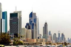 Dubai. World Trade center Royalty Free Stock Photography
