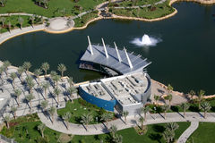 Dubai- - Zabeel-Park lizenzfreie stockbilder