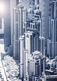 Dubaj śródmieście fotografia stock