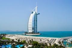 Dubaj al burj hotel arabskiego Obrazy Royalty Free