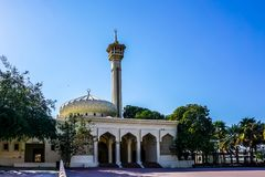 Dubaj Al Farooq meczet obrazy stock