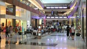 Dubaj centrum handlowe zbiory wideo
