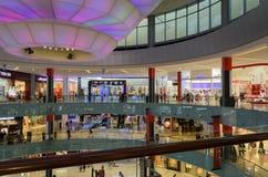 Dubaj centrum handlowe UAE Zdjęcia Royalty Free