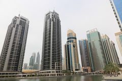 DUBAJ drapaczy chmur budynki, U A e Fotografia Royalty Free