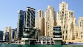 Dubaj. Dubaj Marina obraz royalty free