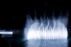 Dubaj fontanna Zdjęcia Royalty Free