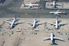 Dubaj lotnisko Obrazy Stock