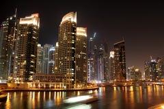 Dubaj marina Obraz Royalty Free