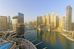 Dubaj Marina obrazy stock