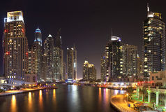 Dubaj Marina Zdjęcia Royalty Free