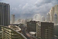 Dubaj Marina budowa Zdjęcie Stock