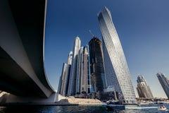 Dubaj Marina linia horyzontu Obrazy Stock