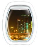 Dubaj Marina Sceniczny lot Obraz Royalty Free