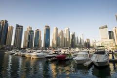 Dubaj Marina, UAE zdjęcie stock