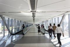 Dubaj metra połączenie Obraz Royalty Free