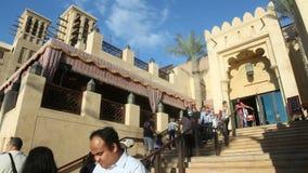 Dubaj miejsca 4k czasu turystyczny upływ zbiory