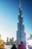 DUBAJ, NOV - 23: Burj Khalifa na Listopadzie 23, 2015 w Dubaj, UAE Fotografia Royalty Free