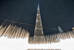 DUBAJ, NOV - 23: Burj Khalifa na Listopadzie 23, 2015 w Dubaj, UAE Obraz Stock