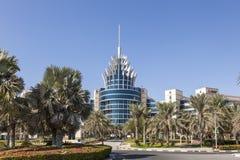 Dubaj oazy Silikonowe kwatery główne Obraz Royalty Free