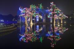 Dubaj ogródu łuna Obrazy Stock