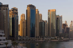 Dubaj pejzaż miejski Zdjęcia Stock
