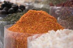 Dubaj pikantności rynek, słonecznik fotografia royalty free