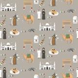 Dubaj podróży dodatek specjalny ilustracji