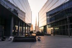 Dubaj projekta okręg - kreatywnie przestrzeń, UAE, Mar 2018 Fotografia Royalty Free