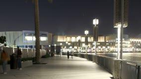 Dubaj sławnej nocy fontanny czasu muzyczny upływ zbiory