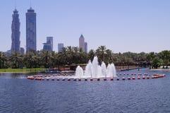 Dubaj Safa park obrazy stock