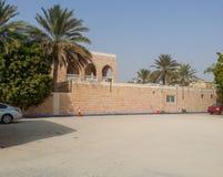 Dubaj siedziba blisko do plaży Perska zatoka zdjęcia stock
