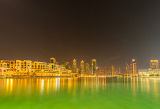 Dubaj, STYCZEŃ - 9, 2015: Duszy Al Bahar na Styczniu Zdjęcia Stock
