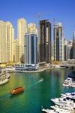 DUBAJ, STYCZEŃ 09, 2017 - pejzaż miejski Dubaj, UAE, Azja obrazy stock