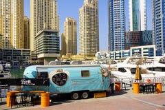 DUBAJ, STYCZEŃ 09, 2017 - pejzaż miejski Dubaj, UAE, Azja obraz royalty free
