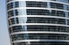 Dubaj tecom szklani budynki, zlani arabscy emiraty Zdjęcia Royalty Free