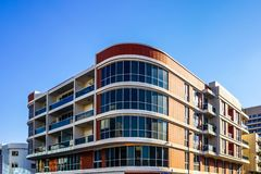 Dubaj Typowy budynek zdjęcie stock