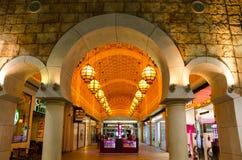 Dubaj, UAE, Battuta zakupy centrum handlowe, Listopad 2015 Zdjęcia Royalty Free