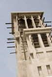 Dubaj UAE wiatr góruje przy dziedzictwo wioską Obraz Royalty Free