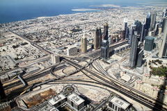 Dubaj w UAE obraz stock