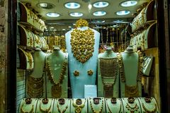 Dubaj złoto Souk fotografia stock