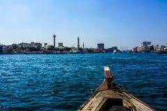 Dubaj zatoczka Souq obrazy stock