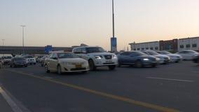 Dubaj zmierzchu drogowego ruchu drogowego droga 4k uae zbiory wideo
