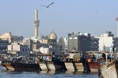 Dubaju emiratów arabskich creek zjednoczonej widok Zdjęcie Stock