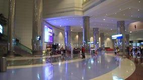 Dubaju na lotnisku międzynarodowym zdjęcie wideo