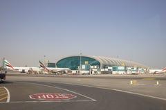 Dubaju na lotnisku międzynarodowym zdjęcia royalty free