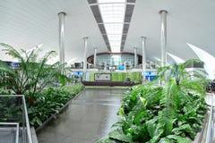 Dubaju na lotnisku międzynarodowym Obraz Royalty Free
