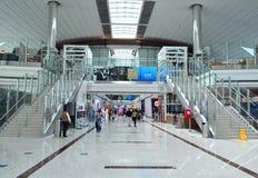 Dubaju na lotnisku międzynarodowym Zdjęcie Stock
