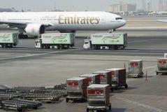 Dubaju na lotnisku międzynarodowym Obrazy Royalty Free