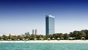 Dubaju na plaży obraz royalty free